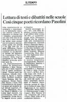 1990 Cinque poeti per Pasolini 2