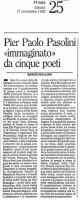1990 Cinque poeti per Pasolini 3
