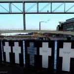 In memoria delle vittime del muro tra il Reichstag e la Sprea
