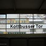 Fermata della metro nel quartiere turco