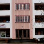 Stile Bauhaus in Karl Marx Allee