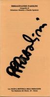 1991 Roma Nuova Bottega dellimmagine - Immaginando Pasolini - 1