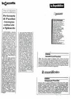 1990 Roma Palazzo della Civilta Italiana - Immaginando Pasolini - 7