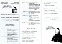 1990 Incontri con la poesia contemporanea 2
