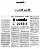 1991 Incontri con la poesia contemporanea 4