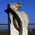 Primo monumento a Pasolini nel luogo della morte